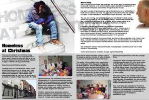 Magazine Design - page from Local Magazine