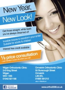 wigan local life business advertisement design