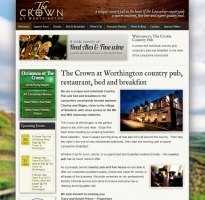 The Crown Website Mobile and Responsive
