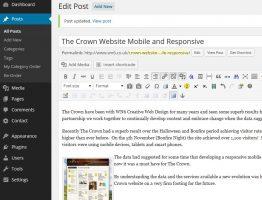 WordPress Websites new look