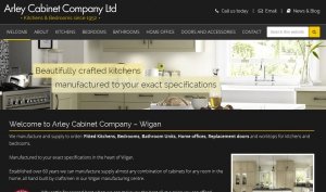 Kitchen and Bedrooms Website