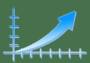 organic seo upward trend