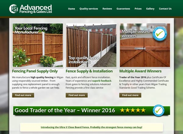 Advanced Fencing Website