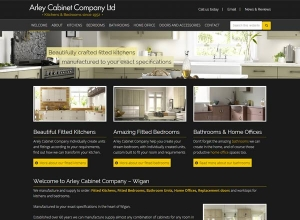 Arley Cabinets Website
