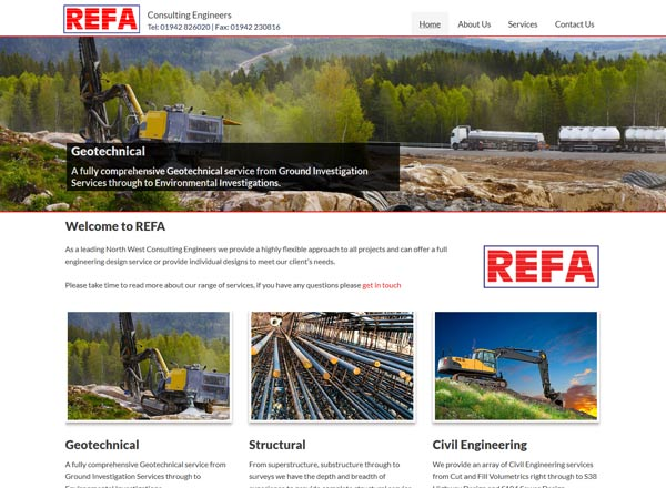 Robert Fry Associates Website